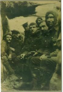 Photo taken by Bruce Bairnsfather WW1 trench